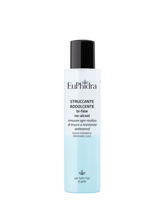 Dual-Phase Softening Make-up Remover